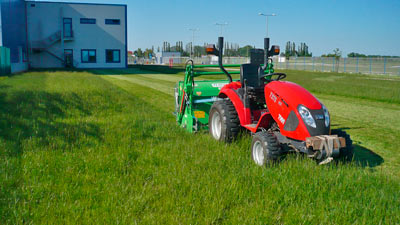 Sečení trávy